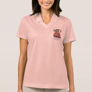 Las mujeres bien comportadas hacen raramente la polo camiseta