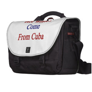 Las mujeres calientes vienen de Cuba Bolsas De Portátil