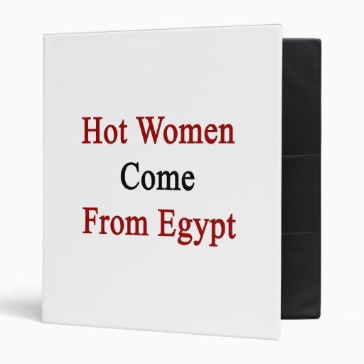 Las mujeres calientes vienen de Egipto