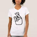 Las mujeres consiguen la camiseta afortunada de Am