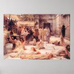 Las mujeres de Amphissa - poster del arte de la re