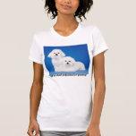 Las mujeres me preguntan acerca del mascota de Pro Camiseta