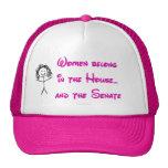 Las mujeres pertenecen en la casa gorro de camionero