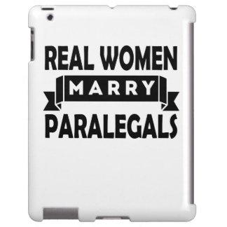 Las mujeres reales casan a Paralegals Funda Para iPad