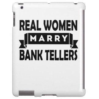 Las mujeres reales casan cajas de banco funda para iPad