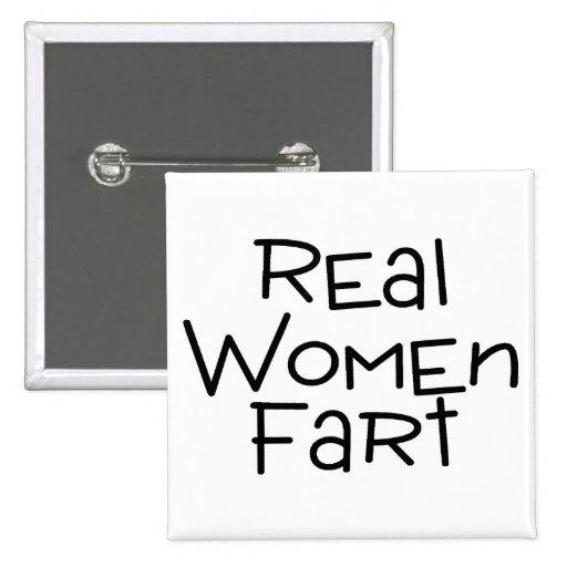 Las mujeres reales Fart Pin