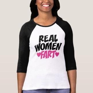 Las mujeres reales Fart Playera
