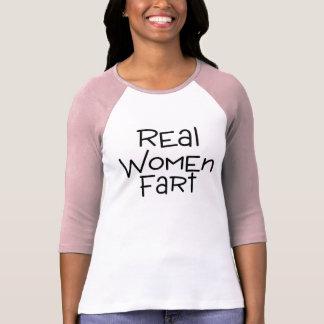Las mujeres reales Fart Tee Shirts