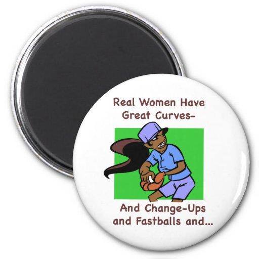 Las mujeres reales tienen gran imán de las curvas