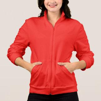 Las mujeres relampagan para arriba los colores chaquetas