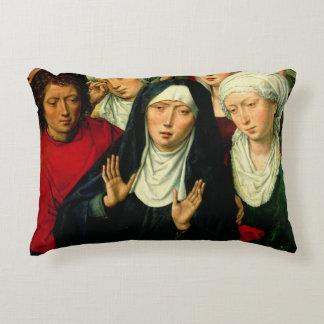 Las mujeres santas, el panel derecho cojín decorativo