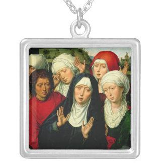 Las mujeres santas, el panel derecho colgante cuadrado