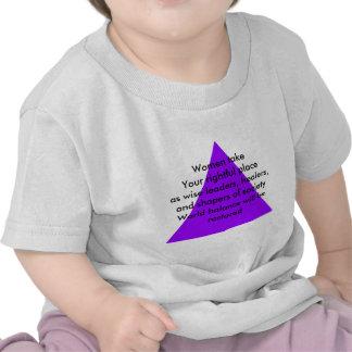 Las mujeres toman su lugar legítimo como líderes camisetas