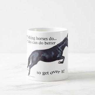 Las mulas son mejores taza de café