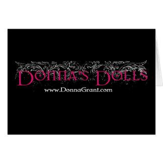 Las muñecas de Donna Felicitacion