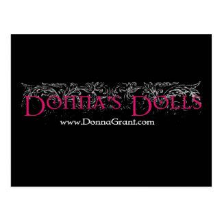 Las muñecas de Donna Tarjeta Postal