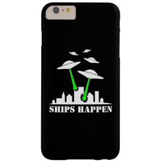 Las naves del UFO suceden Funda De iPhone 6 Plus Barely There