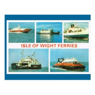 Las naves históricas del vintage, isla del Wight b Postales