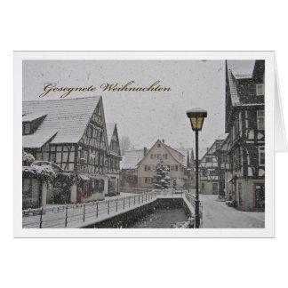 Las navidades benditas tarjeta de felicitación