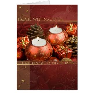 Las navidades rojas felicitaciones