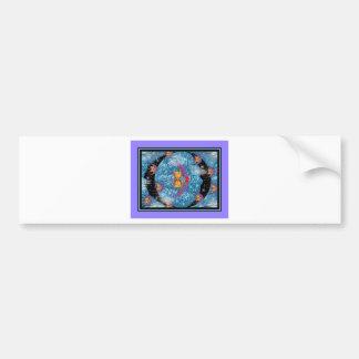 Las nebulosas etiqueta de parachoque