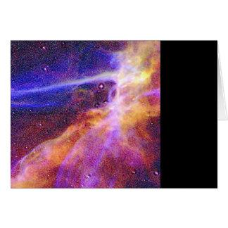 Las nebulosas de Treckie Tarjeta De Felicitación