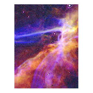 Las nebulosas de Treckie Tarjeta Postal