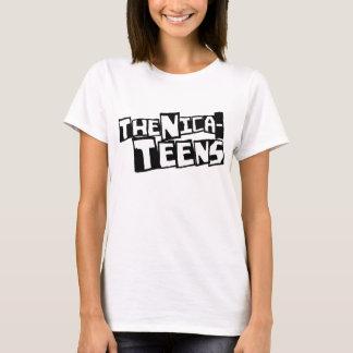 ¡Las Nica-Adolescencias! camiseta para mujer