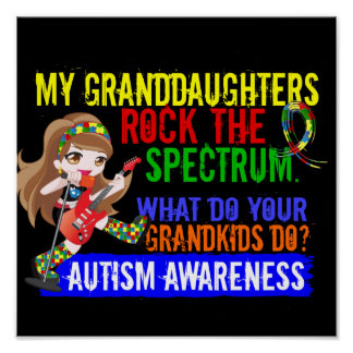 Las nietas oscilan el autismo del espectro poster