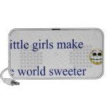 Las niñas hacen el mundo más dulce