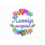 Las niñeras son especiales tarjetas postales