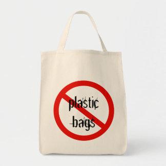 las ningunas bolsas de plástico