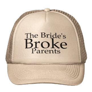 Las novias rompieron a padres gorra