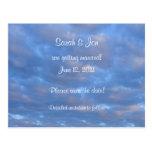Las nubes del verano ahorran la postal del boda de