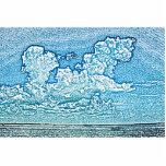 las nubes sobre el cielo de la Florida del Esculturas Fotográficas