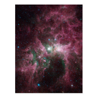 Las nubes torturadas de Eta Carinae Postal