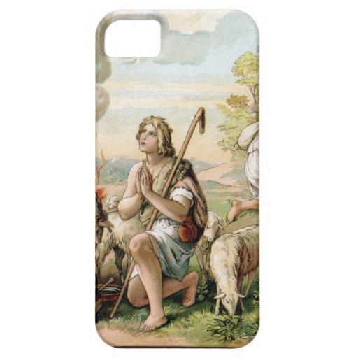 Las ofrendas de Caín y de Abel iPhone 5 Case-Mate Coberturas