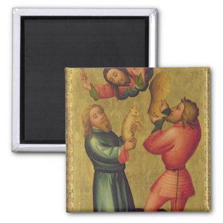 Las ofrendas de Caín y de Abel Imán Para Frigorifico