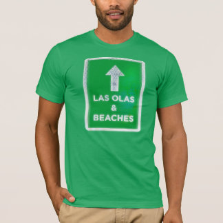 Las Olas and Beaches T-Shirt
