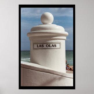Las Olas Posters