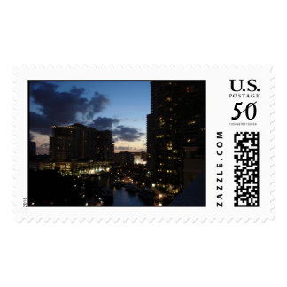 Las Olas River Fort Lauderdale Postage