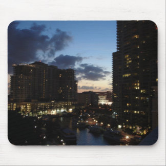Las Olas River Sunset Mouse Pad