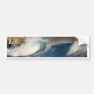 Las ondas acercan a Monterey Pegatina Para Auto