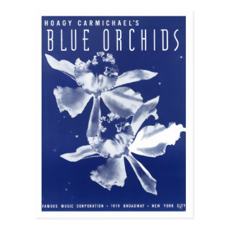 "Las orquídeas ""azules "" de Carmichael del Hoagy Postales"