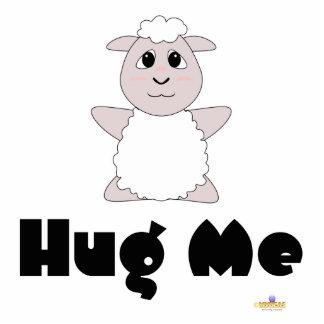 Las ovejas blancas Huggable me abrazan Escultura Fotografica
