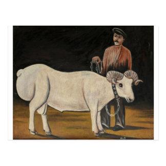 Las ovejas de Niko Pirosmani Postales