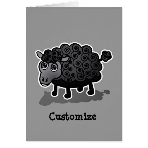 Las ovejas negras felicitacion