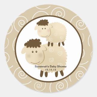 Las ovejas neutrales del Baa del Baa favorecen a p Etiqueta Redonda