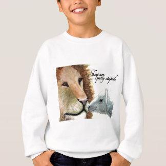 Las ovejas son bonito estúpido remera