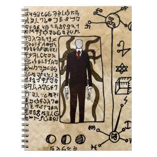 Las páginas del Necronomicon Cuaderno